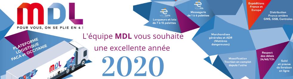 MDL Tous nos meilleurs voeux 2020
