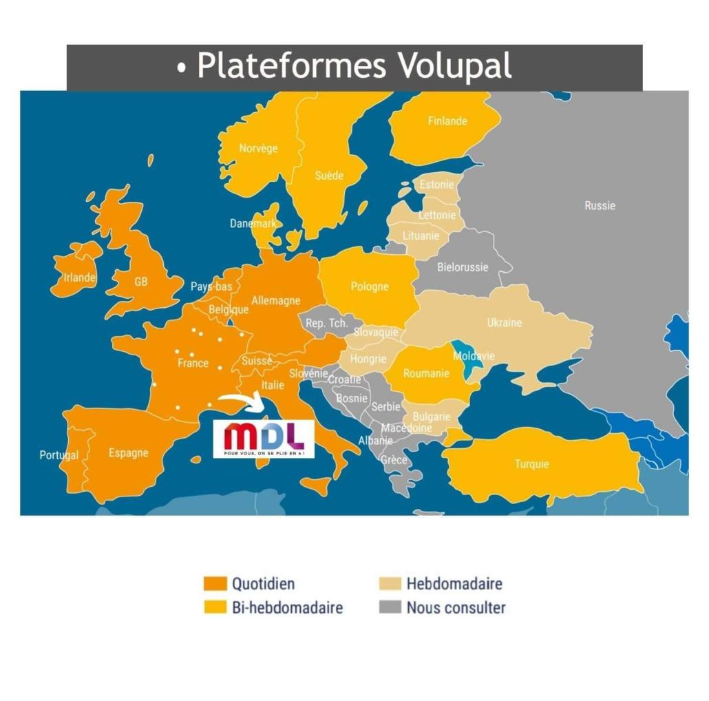 MDL plateforme logistique Sud Est volupal evolutrans